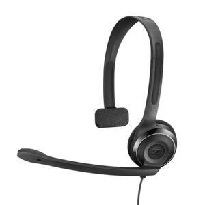 Sennheiser Pc 7 Usb Headphones Black One Size