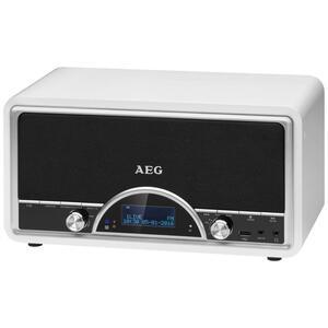 AEG DAB+ Radio mit RDS-Funktion NDR 4378 2×20 W Weiß