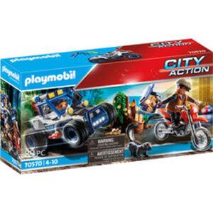 PLAYMOBIL® 70570 City Action Polizei-Geländewagen: Verfolgun