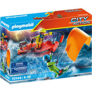 PLAYMOBIL® City Action 70144 Seenot: Kitesurfer-Rettung mit