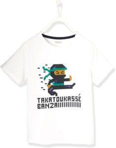 T-Shirt  weiß Gr. 110 Jungen Kleinkinder