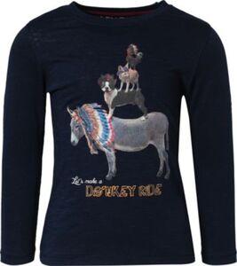 Langarmshirt , Organic Cotton dunkelblau Gr. 92/98 Jungen Kleinkinder