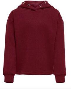 Sweatshirt KONWENDY  bordeaux/rot Gr. 122/128 Mädchen Kinder