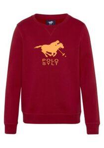 Boys, Sweatshirt, Regular Fit Sweatshirts rot Gr. 146/152 Jungen Kinder