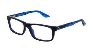 PUMA PJ0009O 002 Kunststoff Rechteckig Blau/Blau Herren Männer