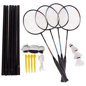 Badminton-Set mit Spielnetz