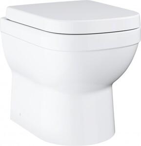 Grohe Stand-Tiefspül-WC Euro Keramik weiß, spülrandlos, inkl. WC-Sitz