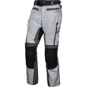 FLM Touren Leder-/Textilhose 4.0 grau Herren Größe 5XL