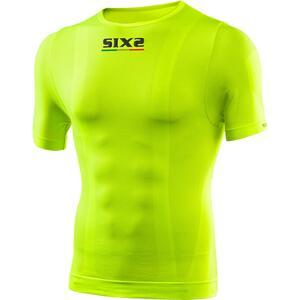 Six2 Funktions T-Shirt TS1 gelb Unisex Größe M