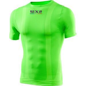 Six2 Funktions T-Shirt TS1 grün Unisex Größe S