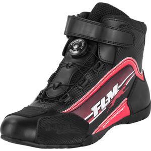 FLM Sports Schuh 1.2 Motorradstiefel rot Herren Größe 34