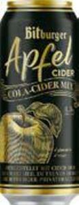 Bitburger Apfel-Cider oder Cola-Cider-Mix