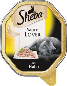 Sheba Sauce Lover mit Huhn Katzenfutter nass 85 g