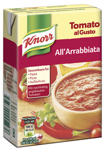 Knorr Tomato al Gusto Arrabiata 370 g