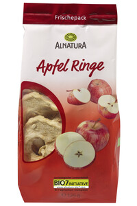 Alnatura Bio Apfelringe getrocknet 125G