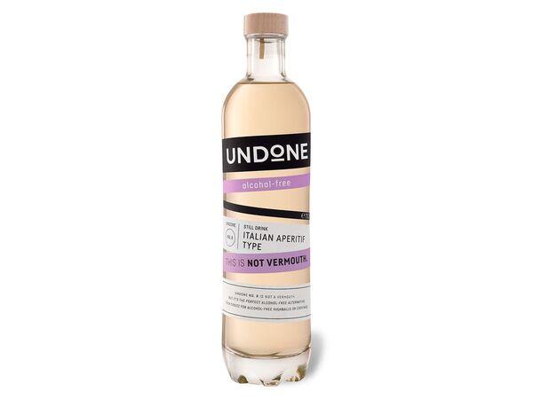 Undone No. 8 Italian Aperitiv Type - Not Vermouth