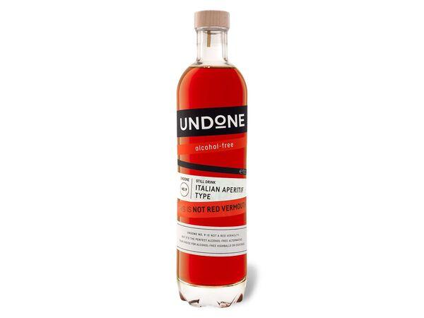 Undone No. 9 Italian Aperitiv Type - Not Red Vermouth
