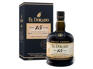 EL DORADO Rum Special Reserve 15 Jahre 43% Vol