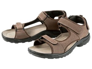 CRIVIT® Sandalen Herren, mit Klettverschlüssen