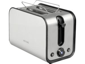 KOENIC KTO 2212 W Toaster Edelstahl/Weiß (870 Watt, Schlitze: 2)