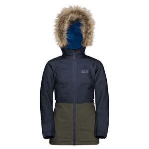 Jack Wolfskin Bandai Jacket Kids Winter-Hardshell Kinder 140 blau night blue