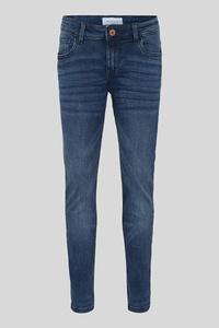 C&A Slim Jeans-Bio Baumwolle, Blau, Größe: 158