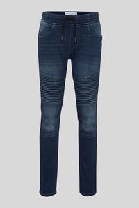 C&A Tapered Jeans-Bio-Baumwolle, Blau, Größe: 146