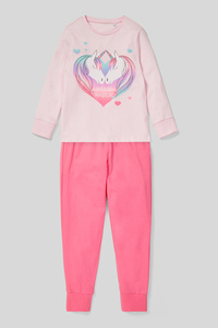 C&A Pyjama-Bio-Baumwolle-2 teilig, Rosa, Größe: 98