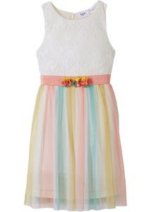 Festliches Mädchen Kleid mit Farbverlauf