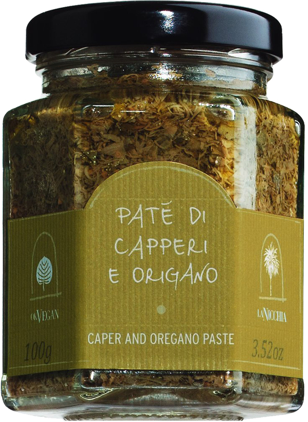 La Nicchia Paté di capperi e origano - Kapernpesto mit Oregano 1..., Italien, 0.1000 kg