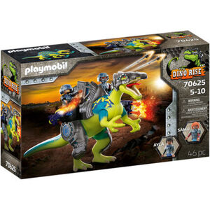 PLAYMOBIL® Dino Rise - Spinosaurus: Doppelte Verteidigungs-Power 70625