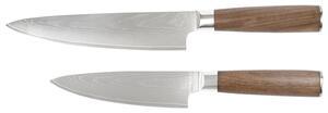 Messerset Katana aus Edelstahl, 2-teilig