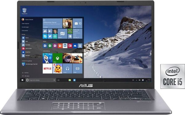 Asus VivoBook F415JP-EB103T Notebook (35,56 cm/14 Zoll, Intel Core i5, 512 GB SSD)