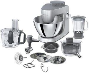 KENWOOD Küchenmaschine MultiOne KHH326 SI, 1000 W, 4,3 l Schüssel, Gratiszubehör im Wert von ca. 159,-€