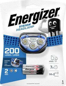 Energizer Kopflampe »Vision«