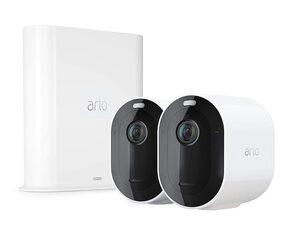 ARLO Pro 3 Sicherheitssystem mit 2 Kameras »kabellose 2K-QHD-Sicherheitskamerasystem«