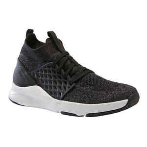 Fitnessschuhe 520, Sneaker Fitness Cardio Damen schwarz