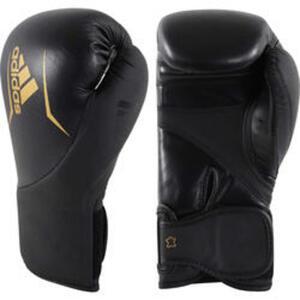 Adidas Boxhandschuhe Speed 200 schwarz/gold 12 oz