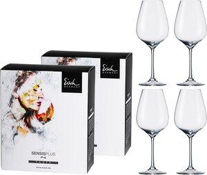 Eisch Rotweinglas »Superior SensisPlus«, Kristallglas, (Syrahglas), bleifrei, 600 ml, 4-teilig