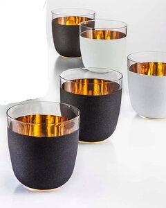Eisch Becher »Cosmo«, Kristallglas, Echtgold, handgefertigt, bleifrei, 390 ml, 2-teilig