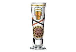Ritzenhoff Schnapsglas »Black Label Design D. Jedwab 40ml«, Kristallglas