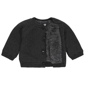 noppies Babystrickjacke  67402 U Cardigan Knit LS Dani  Dunkelgrau