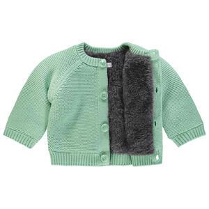 noppies Babystrickjacke  67401 U Cardigan Knit LS Lou  Mintgrün