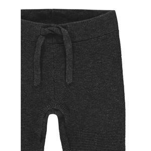 noppies Babystrickhose  67403 U Pants Knit REG Lux  Dunkelgrau