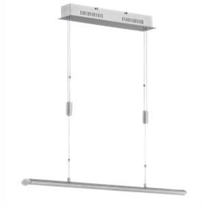 FISCHER & HONSEL LED Pendellampe BEAT 113 cm alufarbig