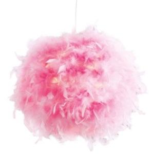 NINO Retrofit Pendellampe DUCKY 40 cm pink