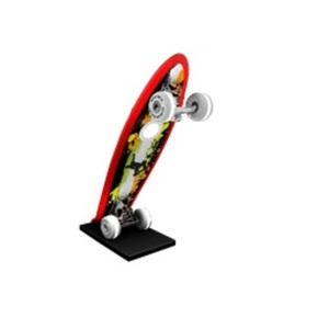 EVOTEC LED Tischlampe MINI CRUISER SKATEBOARD