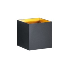 TRIO LED Wandlampe LOUIS schwarz