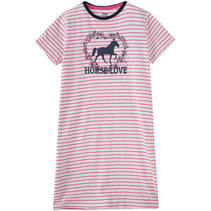 Mädchen Nachthemd mit Pferde-Motiv