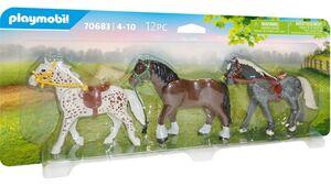 PLAYMOBIL 70683 - Country - 3 Pferde